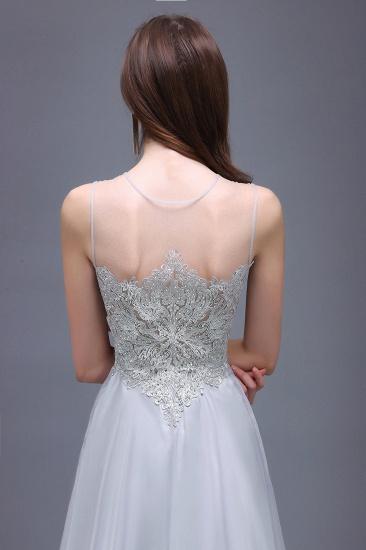 BMbridal Gorgeous Lace Chiffon Long Prom Dress_5