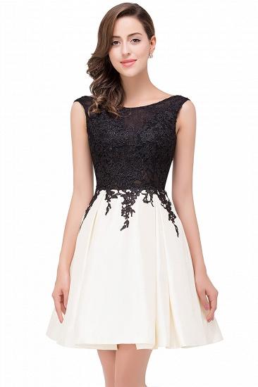 BMbridal Short A Line Applique Tutu Prom Party Dress_2