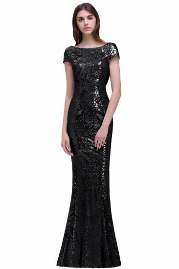 BMbridal Women Sparkly Rose Gold Long Sequins Bridesmaid Dress_4
