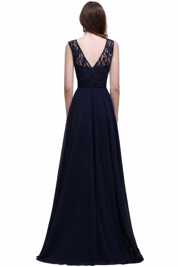 BMbridal Sleeveless Lace Long Chiffon Prom Dress Online_8