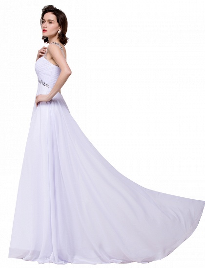 BMbridal A-line Sweetheart Chiffon Evening Dress With Crystal_9
