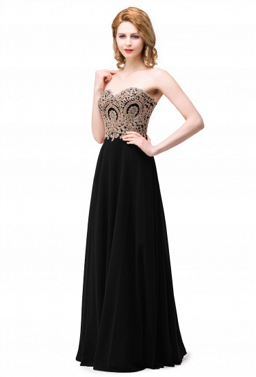 BMbridal Women's Strapless Embroidery Beaded Prom Formal Dress_2