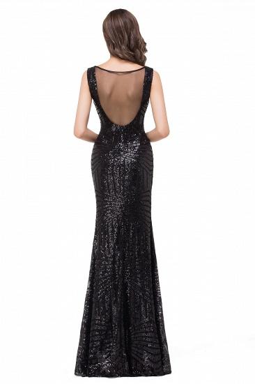 BMbridal Elegant Mermaid Prom Dress Beaded Backless Evening Dress_6