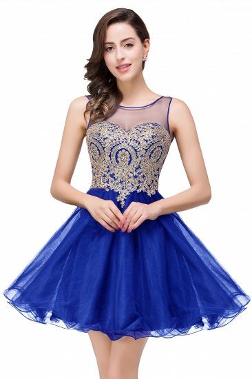 BMbridal Short A-line Sleeveless Little Black Dress Online_4
