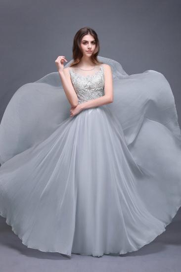 BMbridal Gorgeous Lace Chiffon Long Prom Dress_1