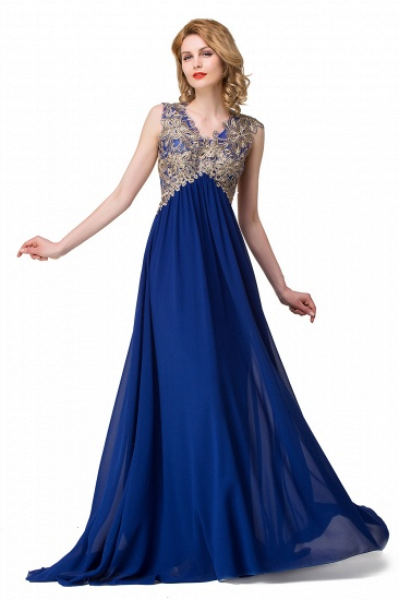 BMbridal Long Prom Lace Dress Evening Dress with Sequins_2