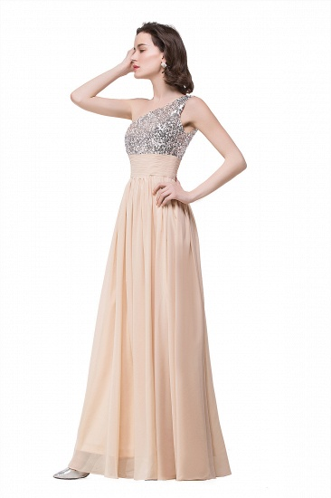BMbridal A-line Floor-length Chiffon Evening Dress with Sequined_6