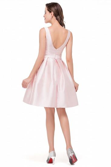 BMbridal Elegant Sleeveless Short A-Line Knee Length Prom Dress_3
