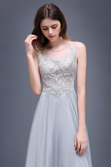 BMbridal Gorgeous Lace Chiffon Long Prom Dress_4