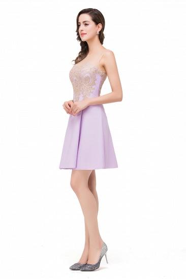 BMbridal Short Applique Sleeveless Prom Homecoming Dress_8