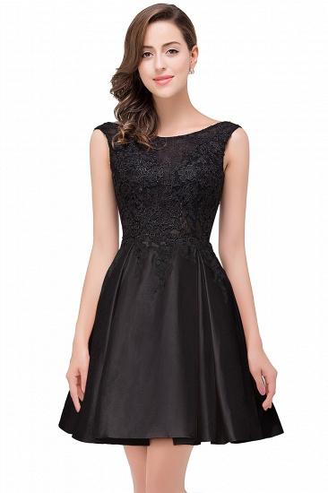 BMbridal Short A Line Applique Tutu Prom Party Dress_5