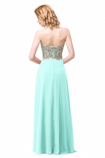 BMbridal Women's Strapless Embroidery Beaded Prom Formal Dress_5