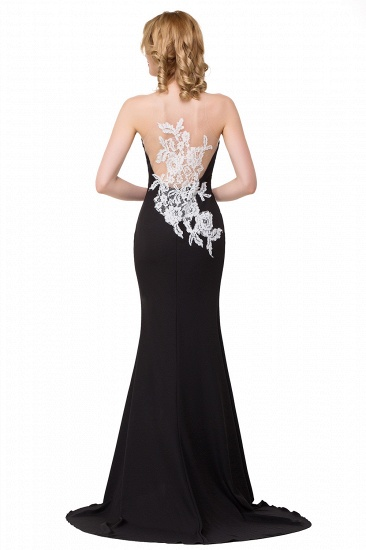 BMbridal Mermaid Evening With Appliques For Women Formal Long Prom Dress_5