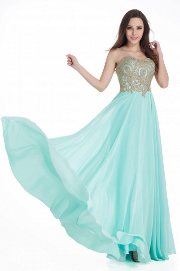 BMbridal Women's Strapless Embroidery Beaded Prom Formal Dress_8