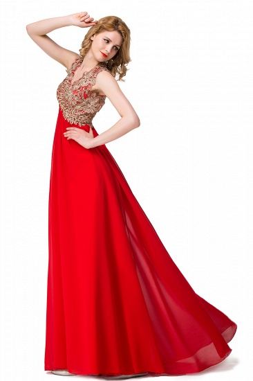 BMbridal Long Prom Lace Dress Evening Dress with Sequins_7