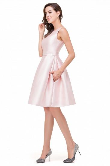 BMbridal Elegant Sleeveless Short A-Line Knee Length Prom Dress_6