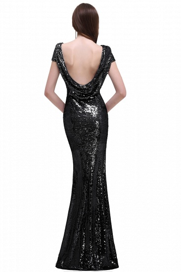 BMbridal Women Sparkly Rose Gold Long Sequins Bridesmaid Dress_10