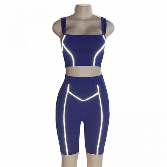 Women Yoga Set Gym Seamless 2 Piece Suit High Waist Pants And Shirts Sport Fitness_7
