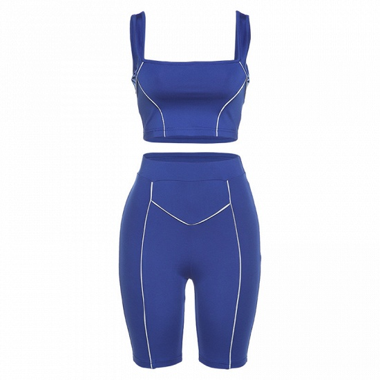 Women Yoga Set Gym Seamless 2 Piece Suit High Waist Pants And Shirts Sport Fitness_11