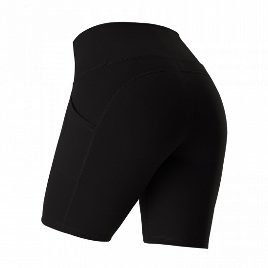 New Women Sports Yoga Shorts Ladies' Camouflage Pockets Hip-tightening Running Fitness Yoga Trouser Sport Fitness Shorts_6