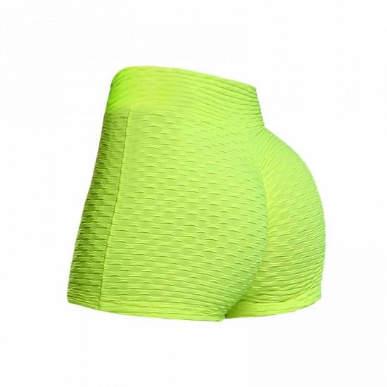 BMbridal Women's High Waist Sports Short Workout Running Fitness Leggings Female Mesh Shorts Gym Yoga Leggings_2