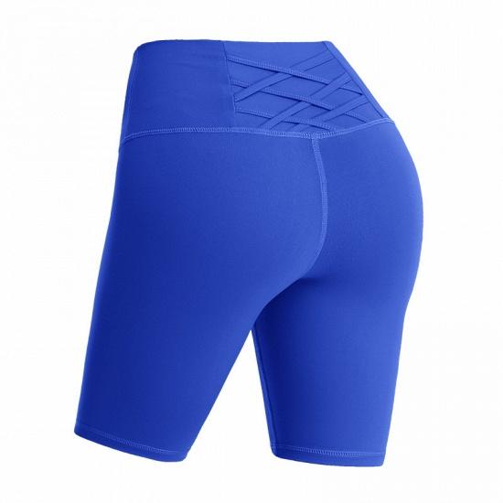 BMbridal Yoga Shorts Women Sports Wear Fitness Short Pants Skinny Female Push Up Gym Clothing Solid Color Elastic Breathable Flex_3