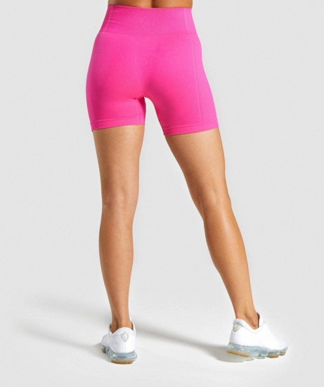 Sexy Women 2PCS Yoga Set Female Short Sleeves Top Fitness Shorts Running Gym Sports Clothes Suit_26