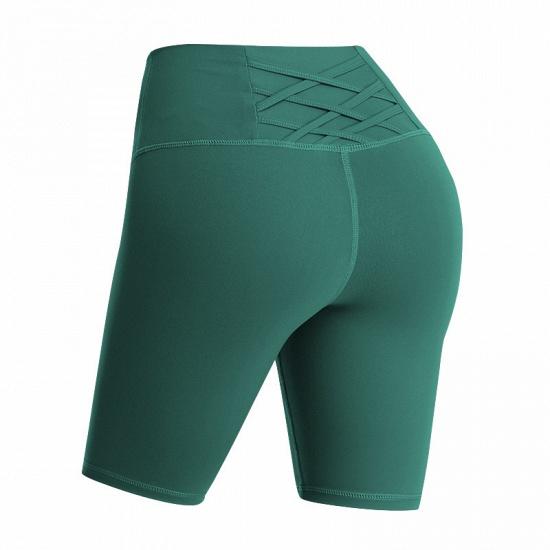 BMbridal Yoga Shorts Women Sports Wear Fitness Short Pants Skinny Female Push Up Gym Clothing Solid Color Elastic Breathable Flex_6