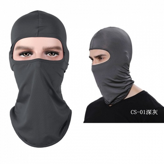 BMbridal Multifunctional Scarf Face Mask Silk Chiffon Handkerchief Outdoor Windproof Half Face Dust-proof Sunshade Masks_1
