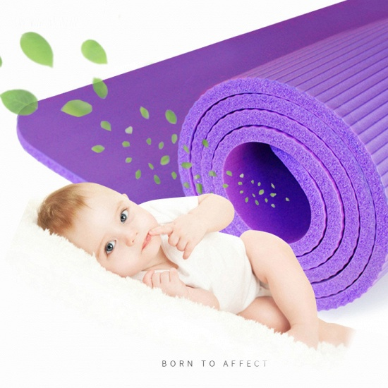 BMbridal Durable Non-Slip Waterproof Rebound Solid Yoga Mat Home Fitness Mat_3