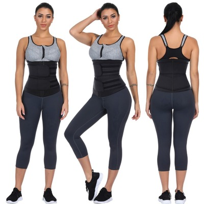 BMbridal Body Shaper Wrap Belt Waist Trainer Cincher Corset Fitness Sweat Belt Girdle Shapewear_2