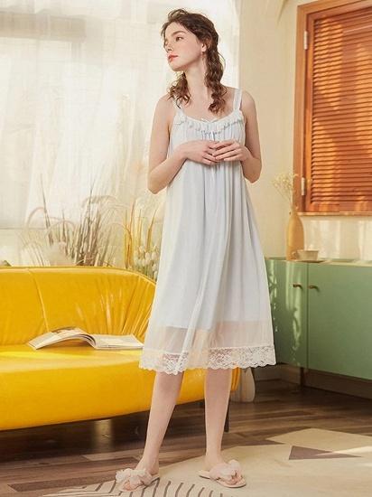 BMbridal Lovely Girls' Round Neck Sleeveless Cotton Pajamas_3