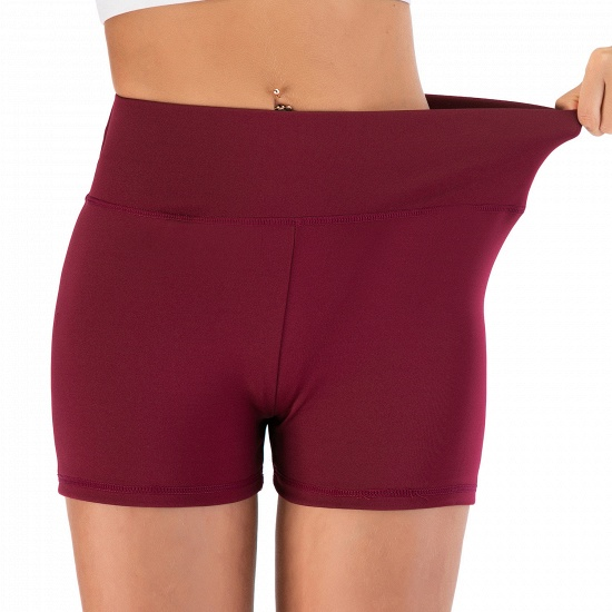 BMbridal Women Casual Fitness Yoga Shorts High Waist Running Gym Stretch Sports Short Pants_13
