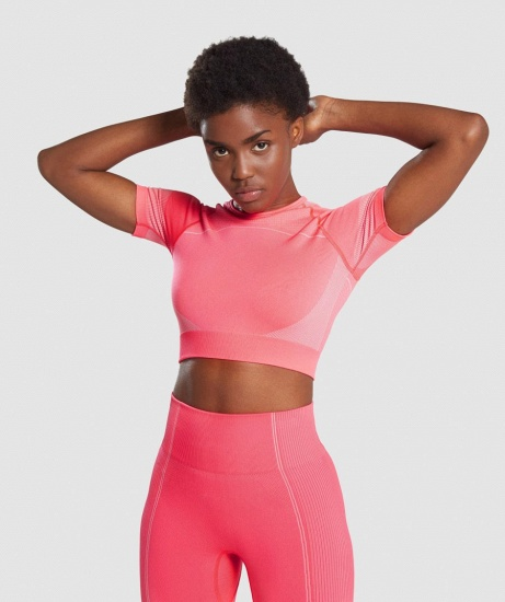 Sexy Women 2PCS Yoga Set Female Short Sleeves Top Fitness Shorts Running Gym Sports Clothes Suit_16