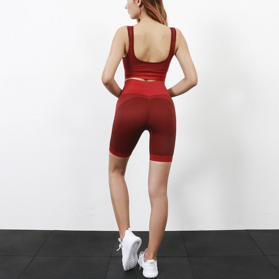 BMbridal Seamless Yoga Set Women Fitness Sport Suits GYM Set Sportswear Shirts High Waist Running Girl Leggings Workout Pants Female T-Shirt_17