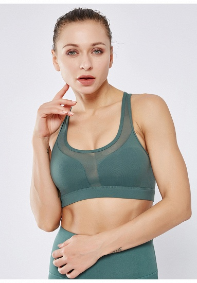 Yoga Wear Womens Sports Bra High Impact Sports Bra Shockproof Wireless Quick-Drying Breathable Yoga Bra Top_7