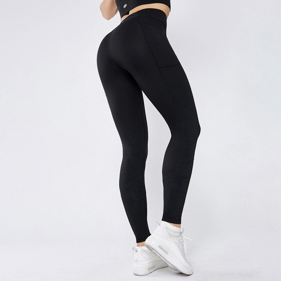 BMbridal 2021 New Women Yoga Pants With Pocket High Waist Sports Gym Wear Leggings Elastic Fitness Lady Overall Full Tights Workout_2