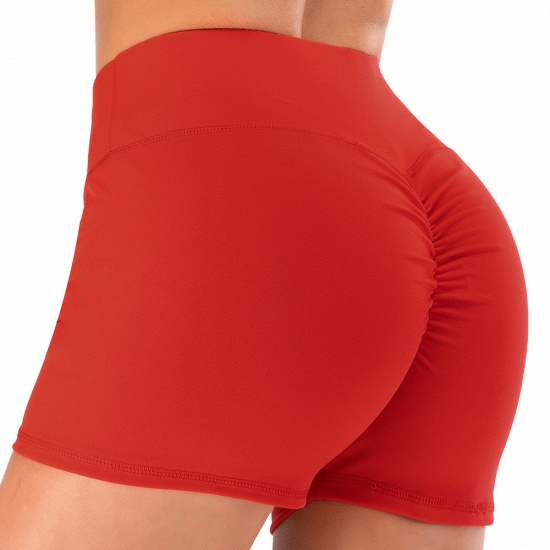 BMbridal Women Casual Fitness Yoga Shorts High Waist Running Gym Stretch Sports Short Pants_16