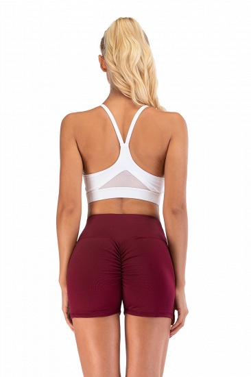 BMbridal Women Casual Fitness Yoga Shorts High Waist Running Gym Stretch Sports Short Pants_8