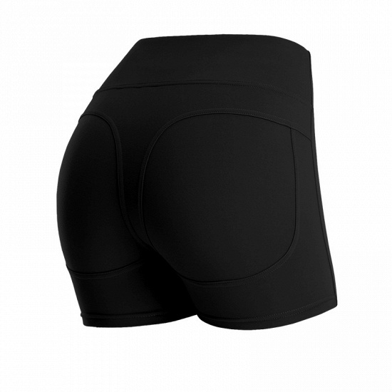 BMbridal Hot Women Casual Solid Elastic High Waist Push Up Fitness Yoga Shorts Running Gym Stretch Sports Short Pants_13