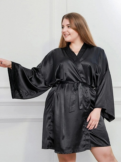 Women Kimono Robes Cotton Lightweight Robe Short Knit Bathrobe Soft Sleepwear Ladies Loungewear_2