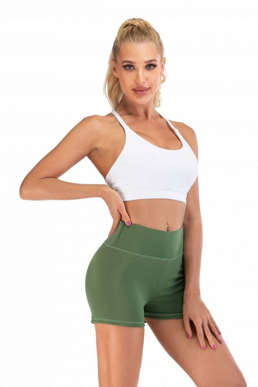 BMbridal Women Casual Fitness Yoga Shorts High Waist Running Gym Stretch Sports Short Pants_12