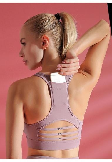 Yoga Wear Womens Sports Bra High Impact Sports Bra Shockproof Wireless Quick-Drying Breathable Yoga Bra Top_8
