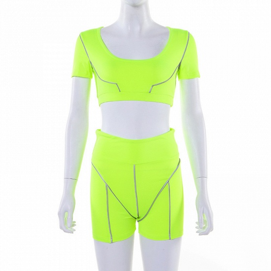 Women Tracksuit Solid Yoga Set Patchwork Running Fitness Jogging Bra Leggings Sports Suit Gym Sportswear Workout Clothes_19