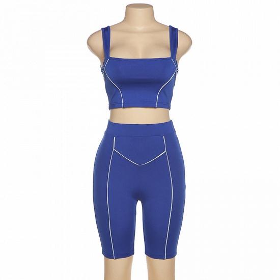 Women Yoga Set Gym Seamless 2 Piece Suit High Waist Pants And Shirts Sport Fitness_9
