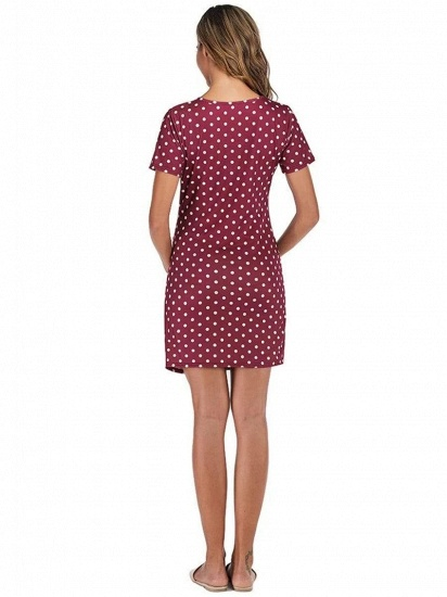 BMbridal Vintage Women Short Sleeves Maternity Dress with Polka Dots On Sale_2