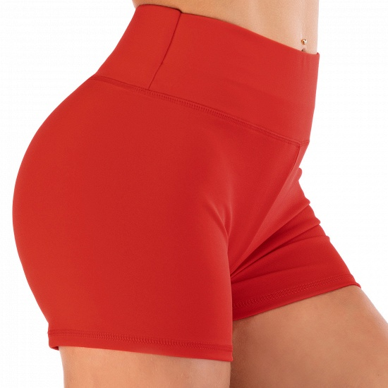 BMbridal Women Casual Fitness Yoga Shorts High Waist Running Gym Stretch Sports Short Pants_15