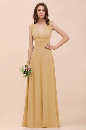 New Arrival Dusty Blue Ruched Long Convertible Bridesmaid Dresses_13