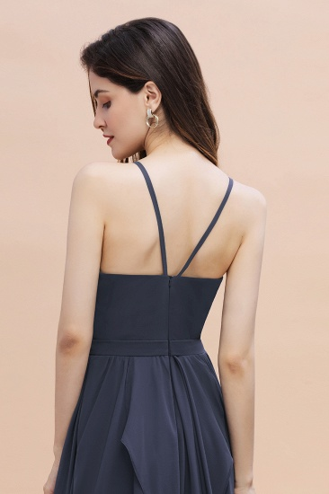 BMbridal Affordable Jewel Sleeveless Stormy Chiffon Bridesmaid Dress with Ruffles Online_9