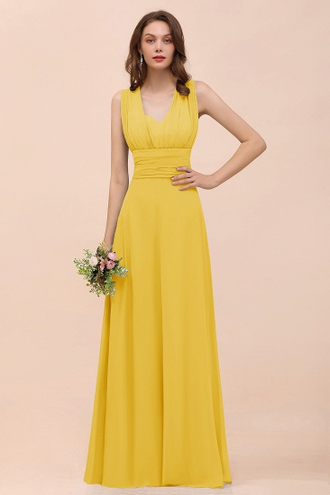 New Arrival Dusty Blue Ruched Long Convertible Bridesmaid Dresses_17